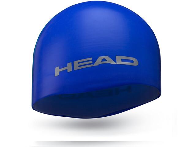 Head Silicone Moulded - Bonnet de bain - bleu